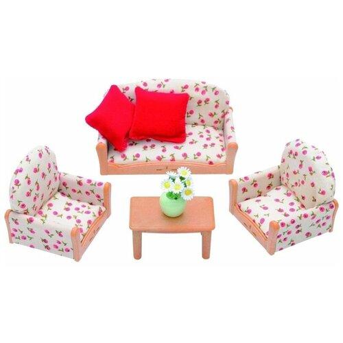 Игровой набор Sylvanian Families Мягкая мебель для гостиной 2922/4464 мягкая мебель