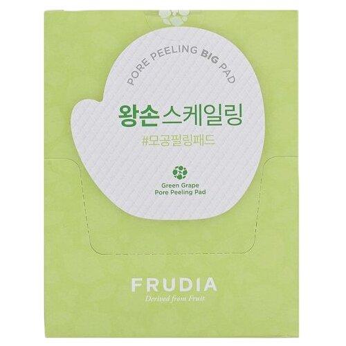 Frudia пилинг-диск Green grape Pore Peeling Pad для лица отшелушивающий с зеленым виноградом саше 3 мл 50 шт.