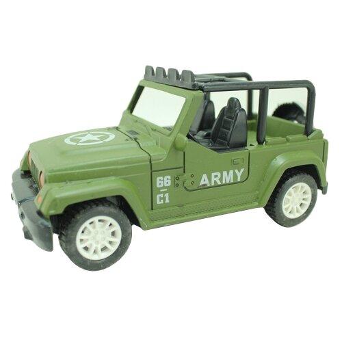 Купить Внедорожник Yako M6387 1:28 зеленый, Радиоуправляемые игрушки