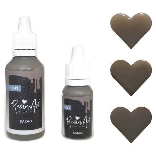 Купить Краситель для эпоксидной смолы ResinArt Какао, 10 мл, Вспомогательные жидкости
