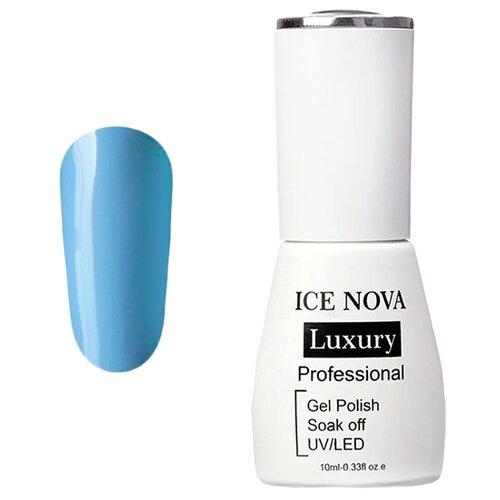 Купить Гель-лак для ногтей ICE NOVA Luxury Professional, 10 мл, 013 cerulean