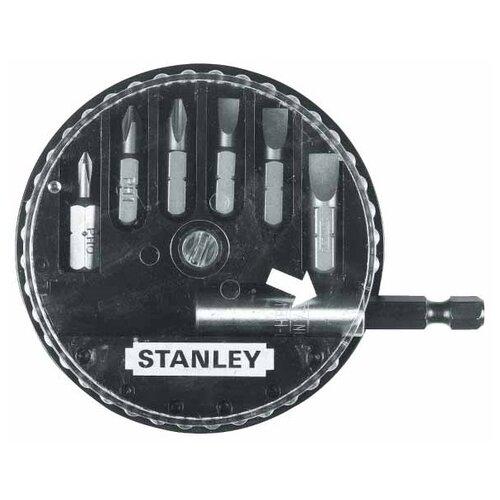 Набор бит STANLEY (7 предм.) 1-68-735 черный/серебристый