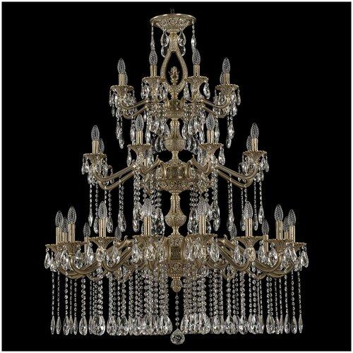 Фото - Люстра Bohemia Ivele Crystal 72402/16+8+8/360/3d A FP FA2B, E14, 1280 Вт люстра bohemia ivele crystal 72402 10 250 a fp fh1m e14 400 вт
