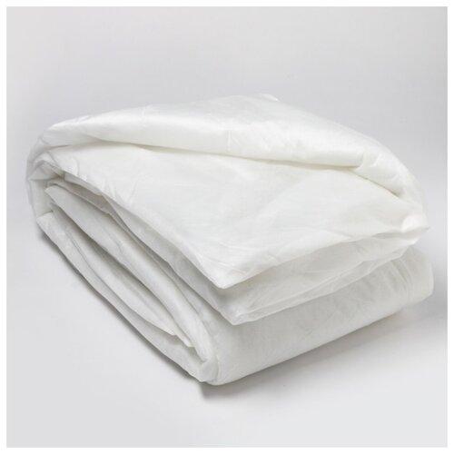 Одеяло Сонотерра Спанбонд, 140*205 см, белый, синтепон 100 г/м2, ткань спанбонд 40 г/м2