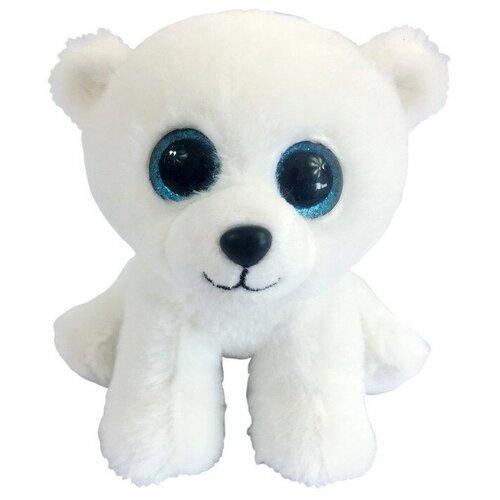 Мягкая игрушка Chuzhou Greenery Toys Медвежонок полярный белый 15 см
