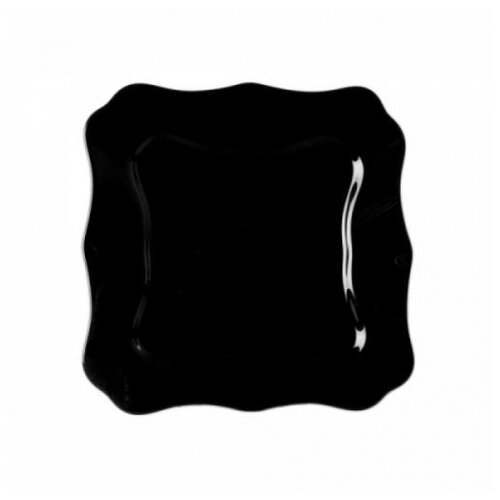 Luminarc Тарелка десертная Authentic 20.5х20.5 см черный тарелка десертная luminarc arty anis 20 см