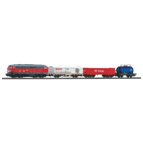 PIKO Стартовый набор Грузовой состав DB Cargo, серия Hobby, 57154, H0 (1:87) piko стартовый набор грузовой поезд taurus серия hobby 57177 h0 1 87