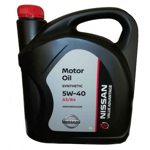 Моторное масло Nissan 5W40 Value Advantage 5 л