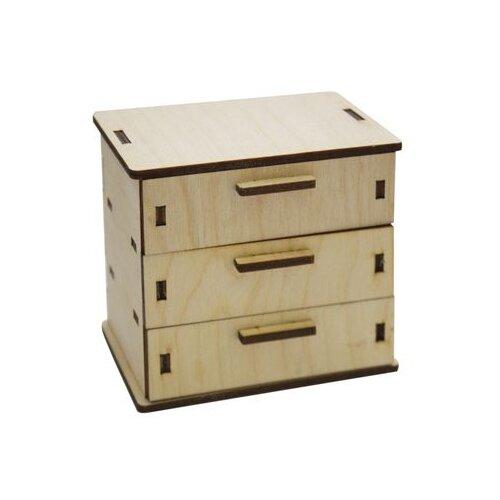 Купить Astra & Craft Деревянная заготовка для декорирования Комод L-514 береза, Декоративные элементы и материалы