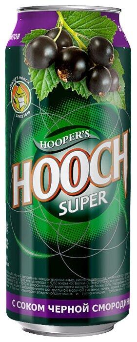 Слабоалкогольлный напиток Hooper's Hooch с соком черной смородины, 0.5 л
