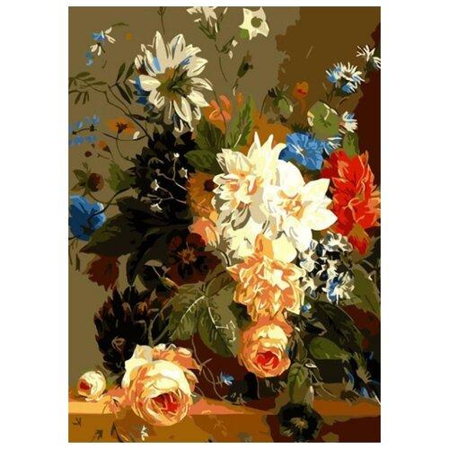 Фото - Картина по номерам Роскошные цветы, 30х40 см цветной картина по номерам белый тигр 30х40 см me1072