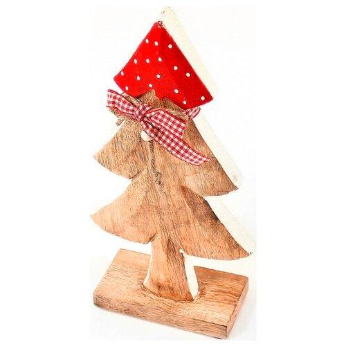 Фигурка EnjoyMe Love Tree 28 см коричневый/красный