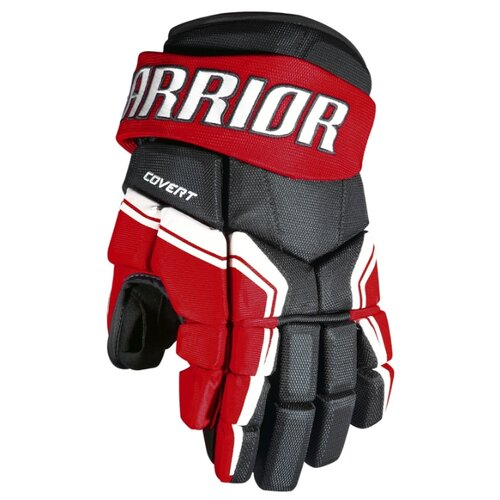 Защита запястий Warrior Covert QRE3 gloves Sr (13 дюйм.) Black with Red  White.