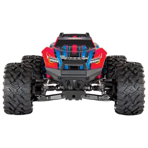 Купить Монстр-трак Traxxas X-Maxx 1/10 4WD (TRA89076-4) 1:10 54.9 см красный, Радиоуправляемые игрушки