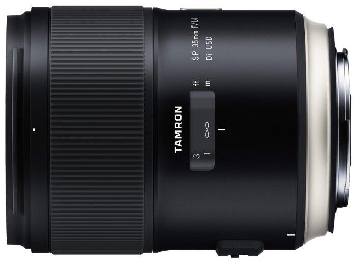 Объектив Tamron 35mm f/1.4 SP Di USD (F045) Canon EF — купить и выбрать из более, чем 4 предложений по выгодной цене на Яндекс.Маркете