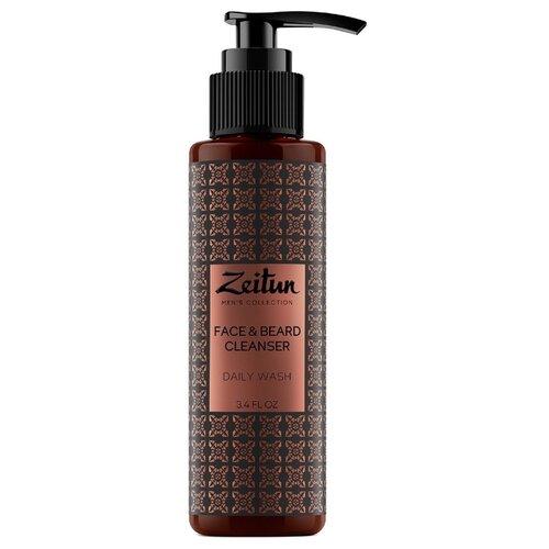 Zeitun Очищающий гель для умывания Face Beard Cleancer 100 мл