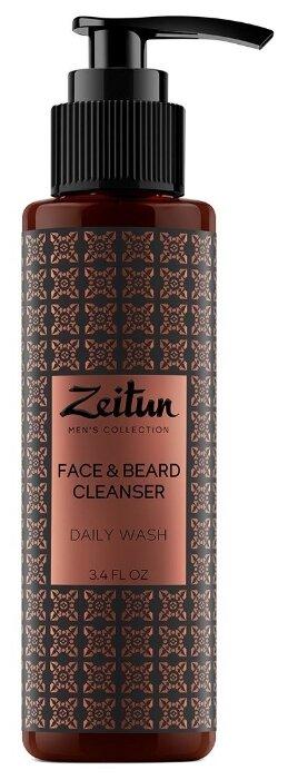 Zeitun Очищающий гель для умывания Face Beard Cleancer