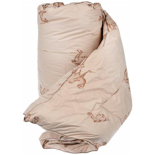 Одеяло Легкие сны Верби, теплое, 140 х 205 см (бежевый)