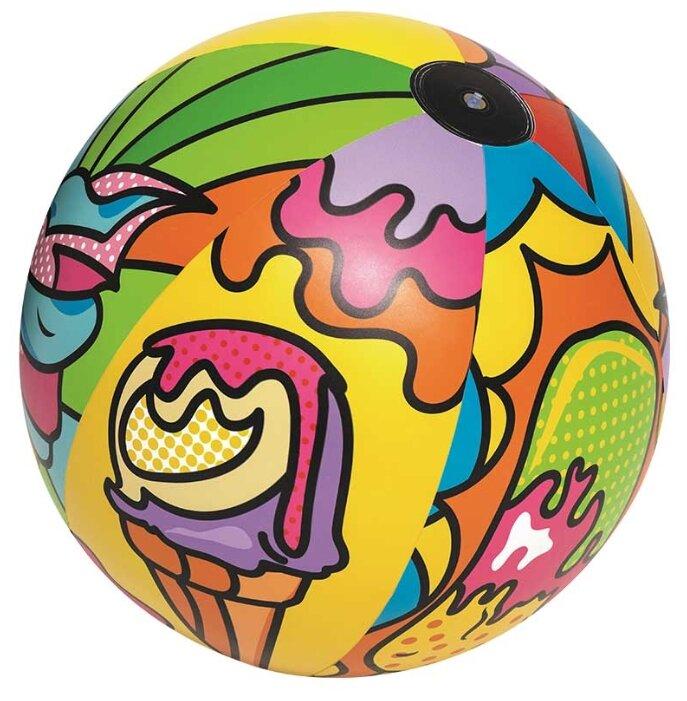 Мяч пляжный Bestway Поп-арт 31044