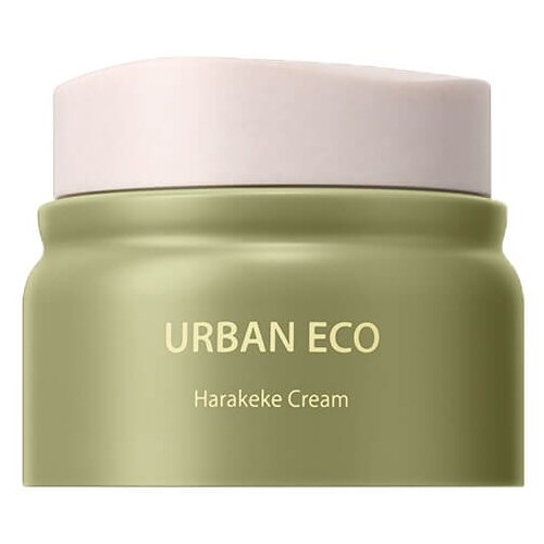 The Saem Urban Eco Harakeke Cream Увлажняющий крем для лица с экстрактом новозеландского льна, 50 мл осветляющий крем для лица с экстрактом новозеландского льна urban eco harakeke whitening cream 60мл
