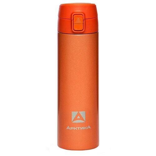 Термокружка Арктика 705-500, эмаль, 0.5 л оранжевый