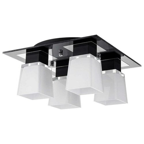 Фото - Люстра Lussole Lente GRLSC-2507-04, 24 Вт потолочный светильник lussole lente grlsc 2507 01