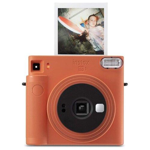 Фото - Фотоаппарат моментальной печати Fujifilm Instax SQUARE SQ1, оранжевый фотоаппарат моментальной печати canon zoemini s розовое золото