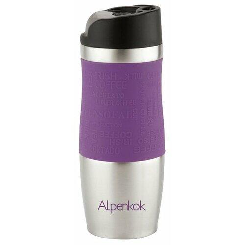 Термокружка Alpenkok AK-04004A, 0.4 л фиолетовый