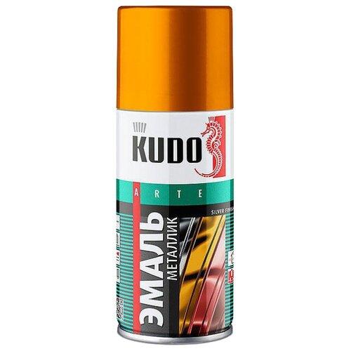 Эмаль KUDO универсальная металлик Silver finish бронза 210 мл по цене 279
