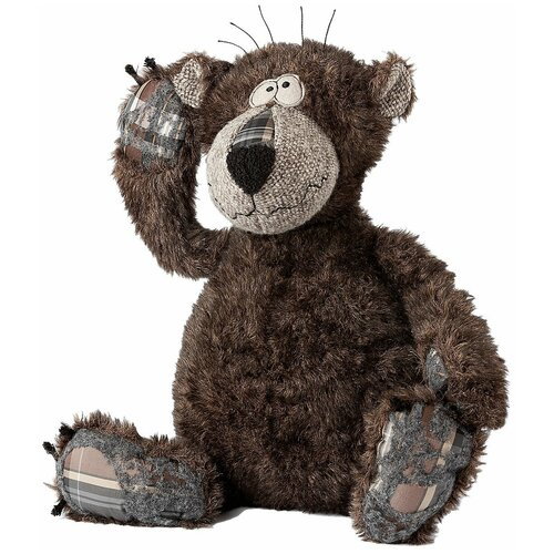 Мягкая игрушка SigKid Бурый мишка 20 см