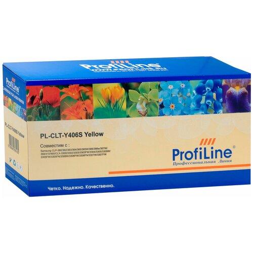 Фото - Картридж ProfiLine PL-CLT-Y406S-Y, совместимый картридж profiline pl q6462a y совместимый