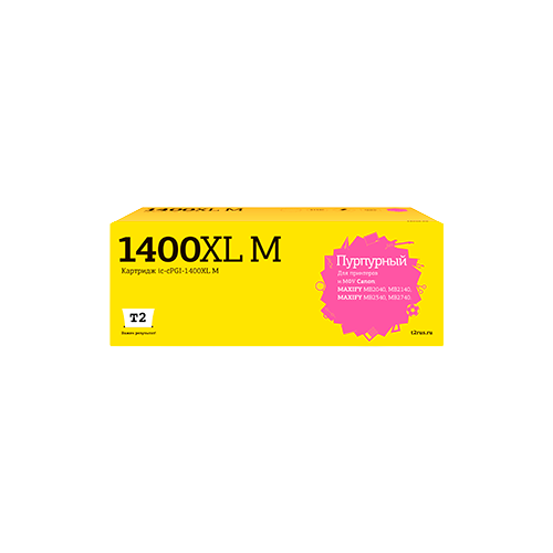 Фото - Картридж T2 IC-CPGI-1400XL M, совместимый картридж t2 ic cpgi 480pgbk xxl совместимый