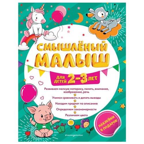 Абрикосова И. В. Смышленый малыш: для детей 2-3 лет эксмо нешкольная тетрадь игра нешкольные задания красная и абрикосова
