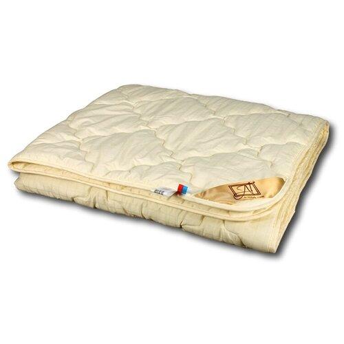 Фото - Одеяло АльВиТек Модерато, легкое, 172 х 205 см (бежевый) одеяло альвитек модерато эко всесезонное 172 х 205 см сливочный