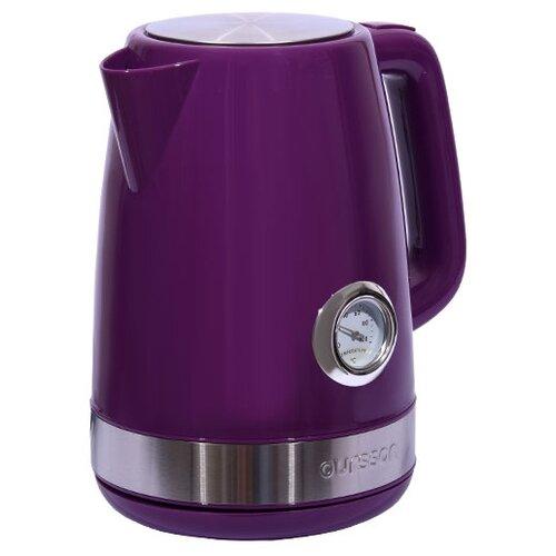 Фото - Чайник Oursson EK1716P, фиолетовый чайник oursson ek1760m 1 7l red