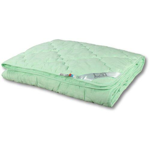 Фото - Одеяло АльВиТек Бамбук Люкс, легкое, 200 х 220 см (зеленый) одеяло альвитек крапива традиция легкое 200 х 220 см зеленый