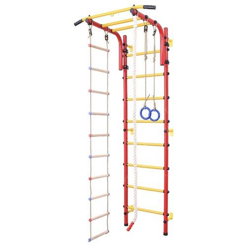 Купить Шведская стенка SportLim DS-11S красный, Игровые и спортивные комплексы и горки