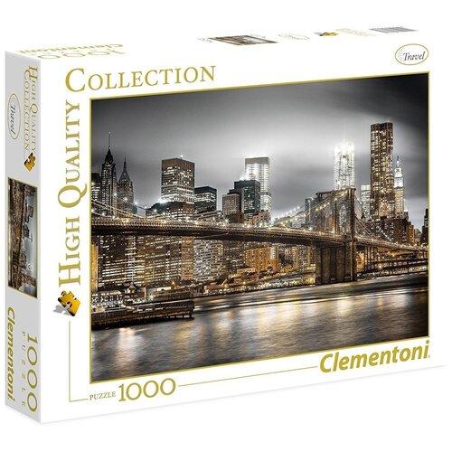 Пазл Clementoni High Quality Collection Ночной Нью-Йорк (39366), 1000 дет. пазл clementoni 1000 деталей наполи 2