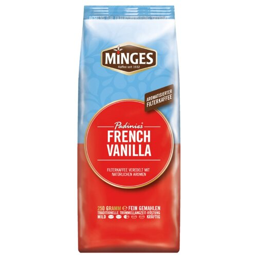 Кофе молотый Minges Padinies French Vanilla, 250 г