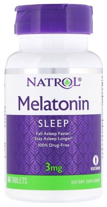 Мелатонин Natrol Melatonin 3 mg (60 таблеток)