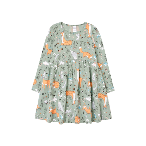 Купить Платье crockid размер 92, нефритовый, Платья и юбки