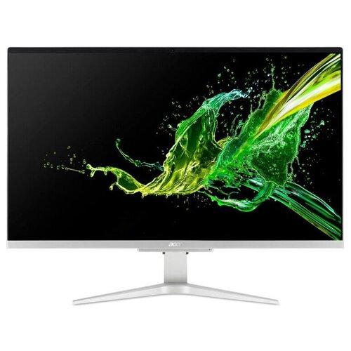 Фото - Моноблок Acer Aspire C27-962 DQ.BDPER.003 Intel Core i5-1035G1/8 ГБ/SSD/NVIDIA GeForce MX130/27/1920x1080/Windows 10 Home 64 моноблок acer aspire c27 962 27 intel core i5 1035g1 8гб 256гб ssd nvidia geforce mx130 2048 мб windows 10 серебристый [dq bdper 00l]