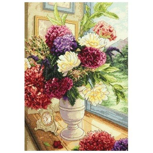 Dimensions Набор для вышивания крестиком Summer Bouquet 25,4 х 35,5 см (35328)
