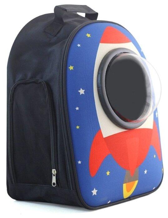 Переноска-рюкзак для собак Triol Ракета 23х32х45 см