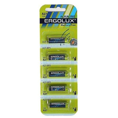 Фото - Батарейка Ergolux Alkaline LR23A, 5 шт. батарейка camelion lr23a 1 шт