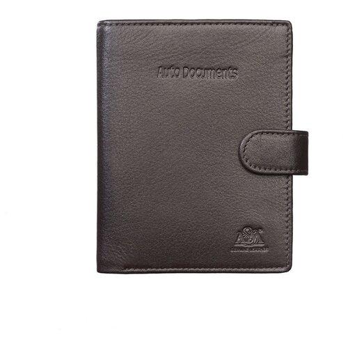 Бумажник водителя A&M в фирменной подарочной коробке, 100% натуральная кожа, 2133Br