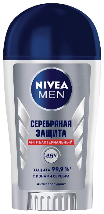 Антиперспирант стик Nivea Men Серебряная защита