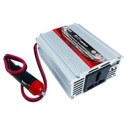 Инвертор AVS IN-200W серебристыйАвтомобильные инверторы<br>