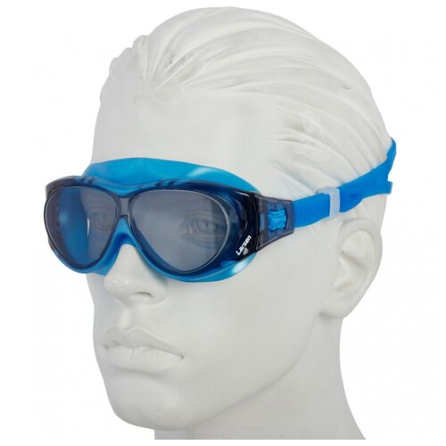 Фото - Очки-маска для плавания Larsen DK6 синий очки для плавания larsen dr g101 черный