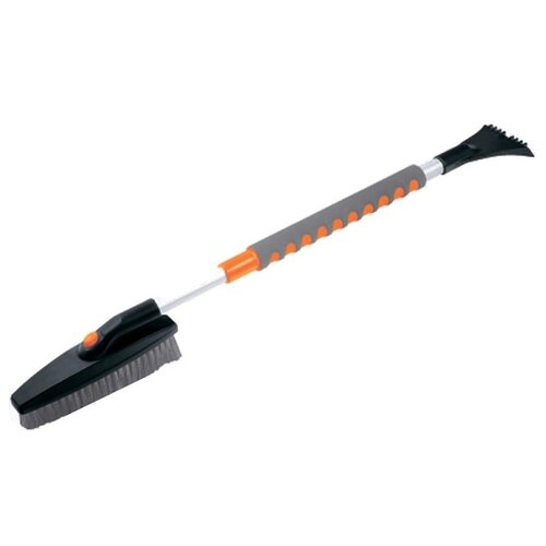 Телескопическая щетка-скребок Stels 55313 черный/серый/оранжевый